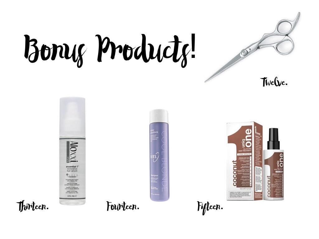 Balayage bonus products