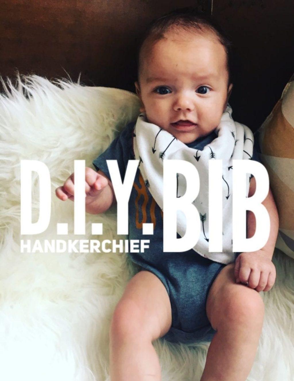 diy handkerchief bib