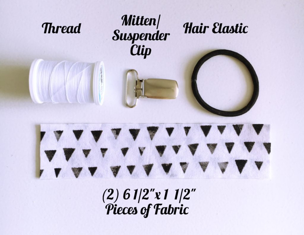 pacifier clip supplies