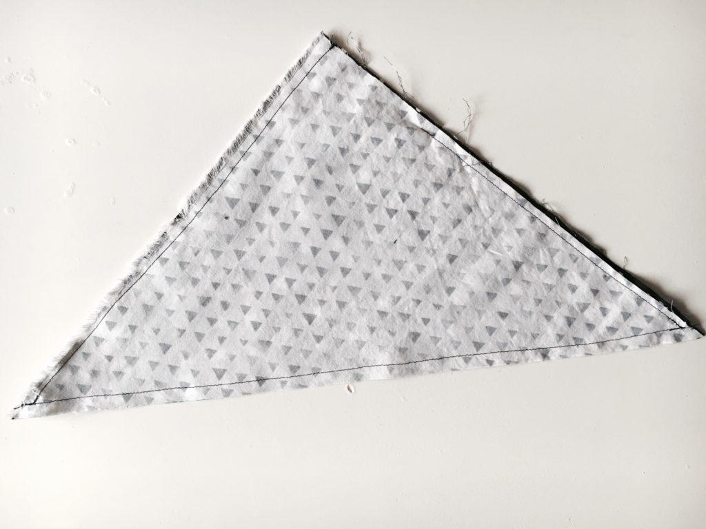 sew leaving hole