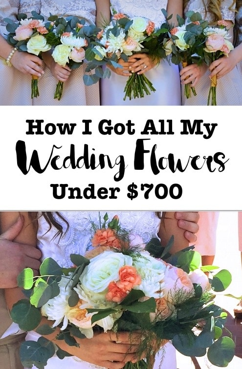 How i got allmy wedding flowers under $700