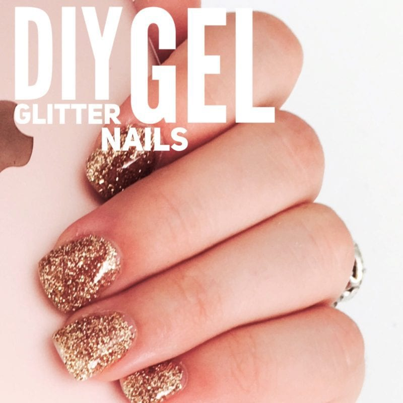 Glitter Gel Nails Tutorial