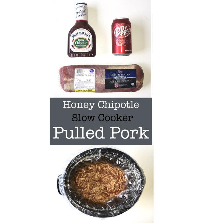Honey Chipotle Slow Cooker Pulled Pork - Life on Waller