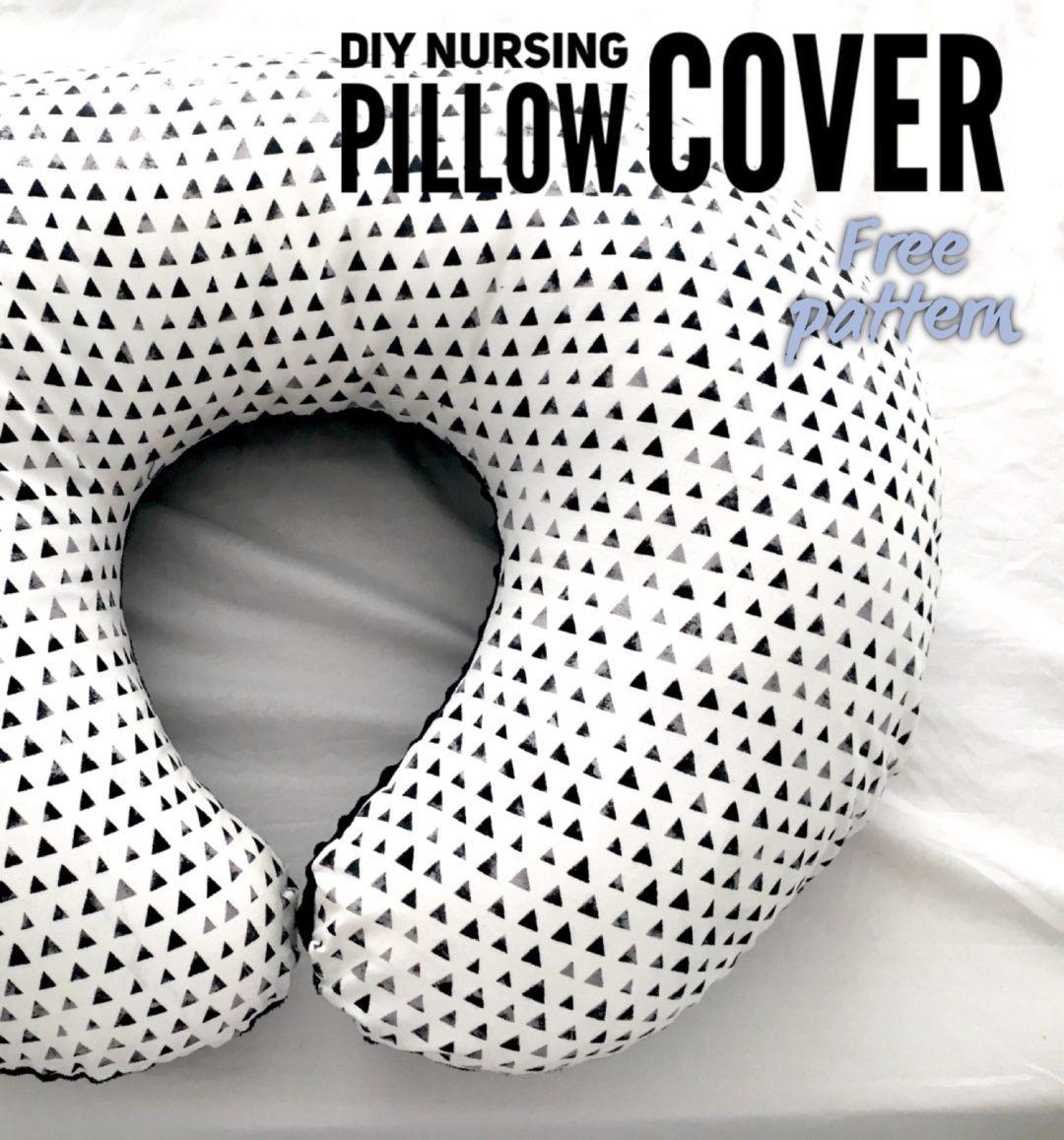 Diy Nursing Pillow Cover Life On Waller