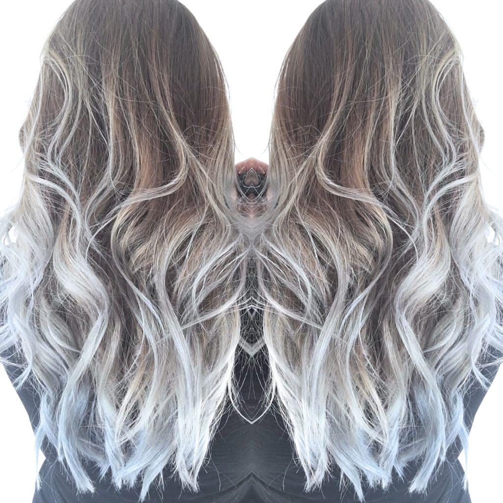 How I Color My Titanium Hair - Cassie Scroggins