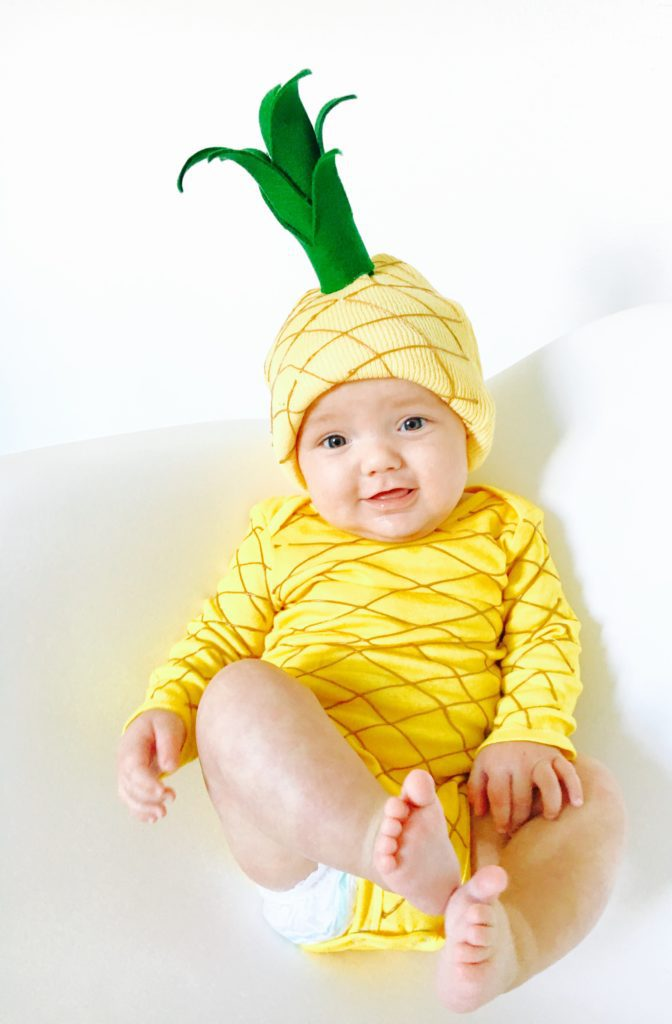 DIY Pineapple Costume - Life on Waller