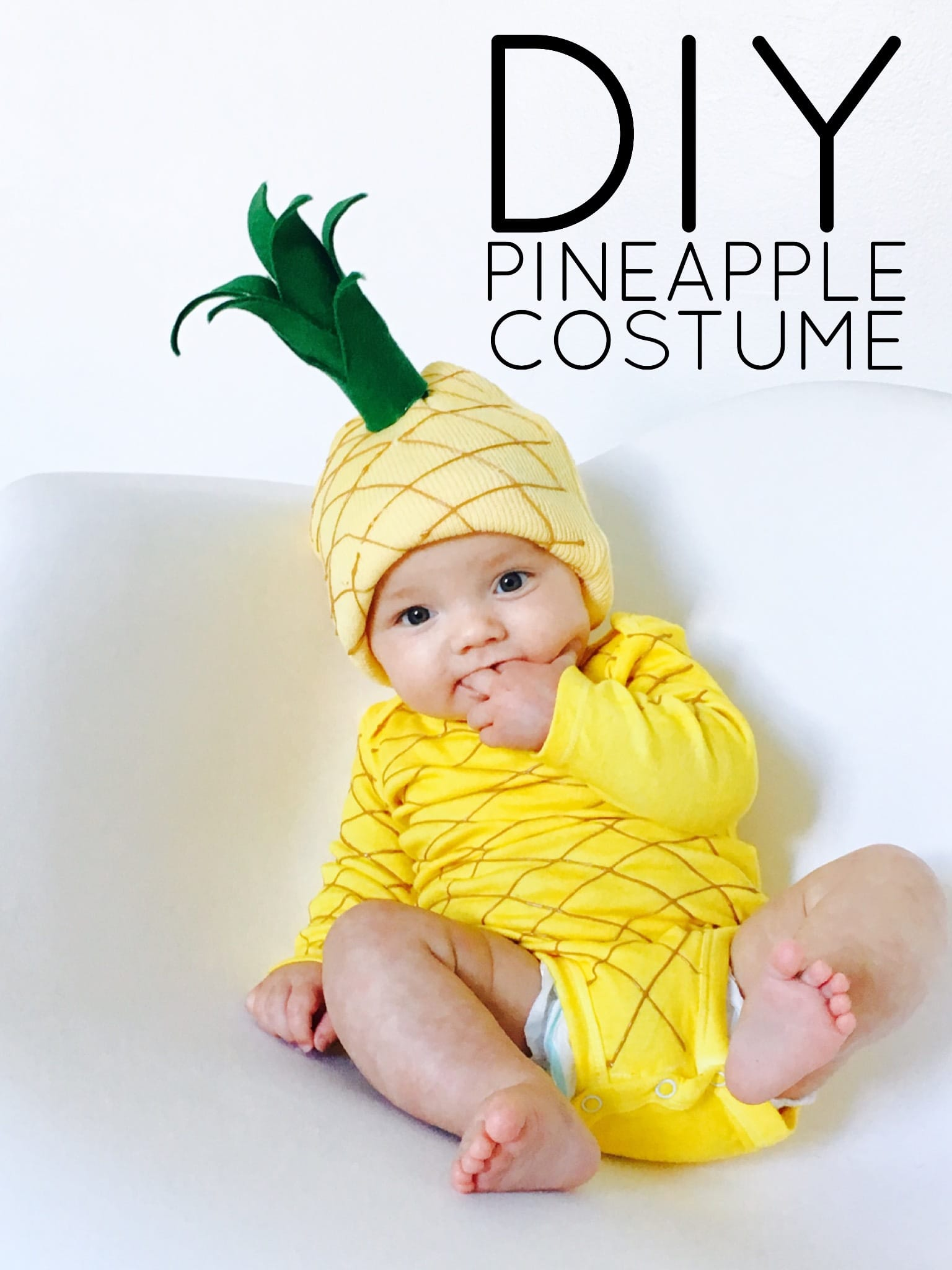 DIY Pineapple Costume - Life on Waller