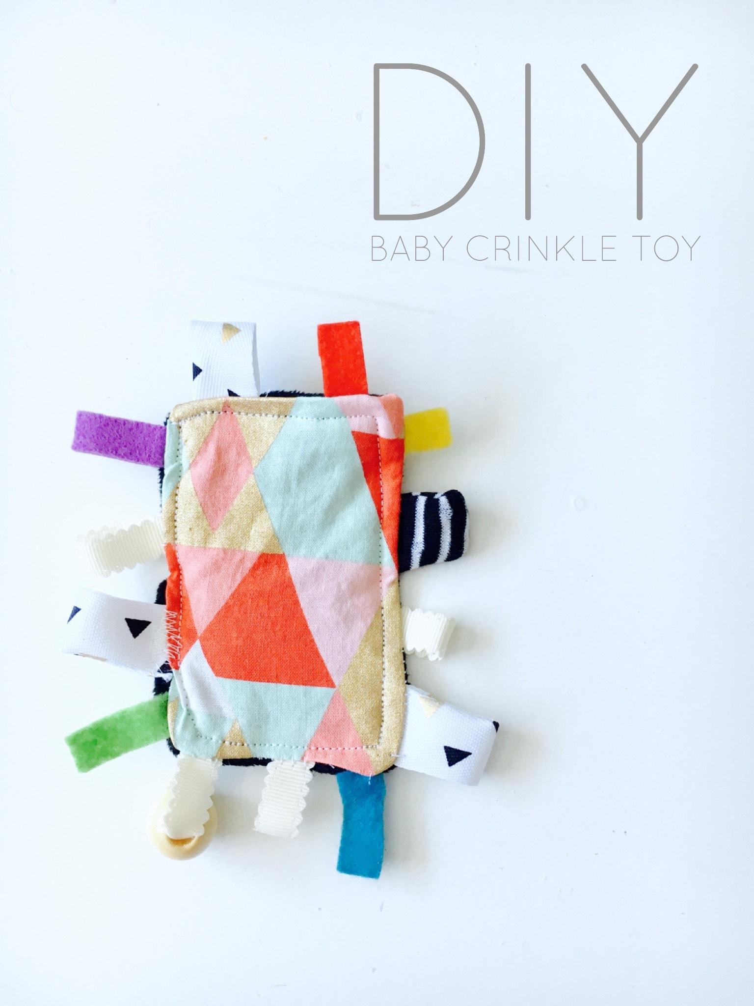 DIY Baby Crinkle Toy