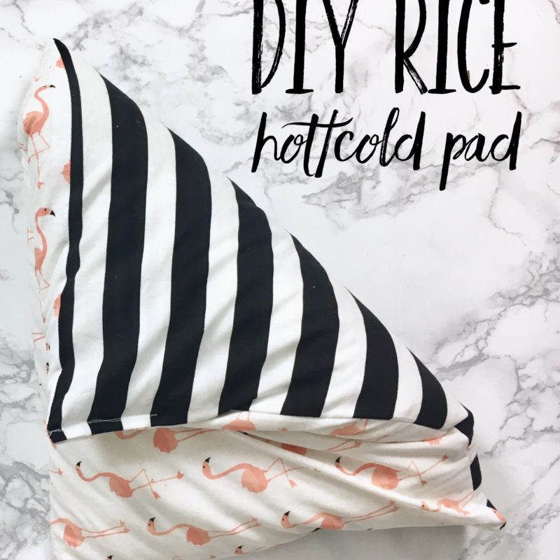DIY Rice Hot/Cold Pad