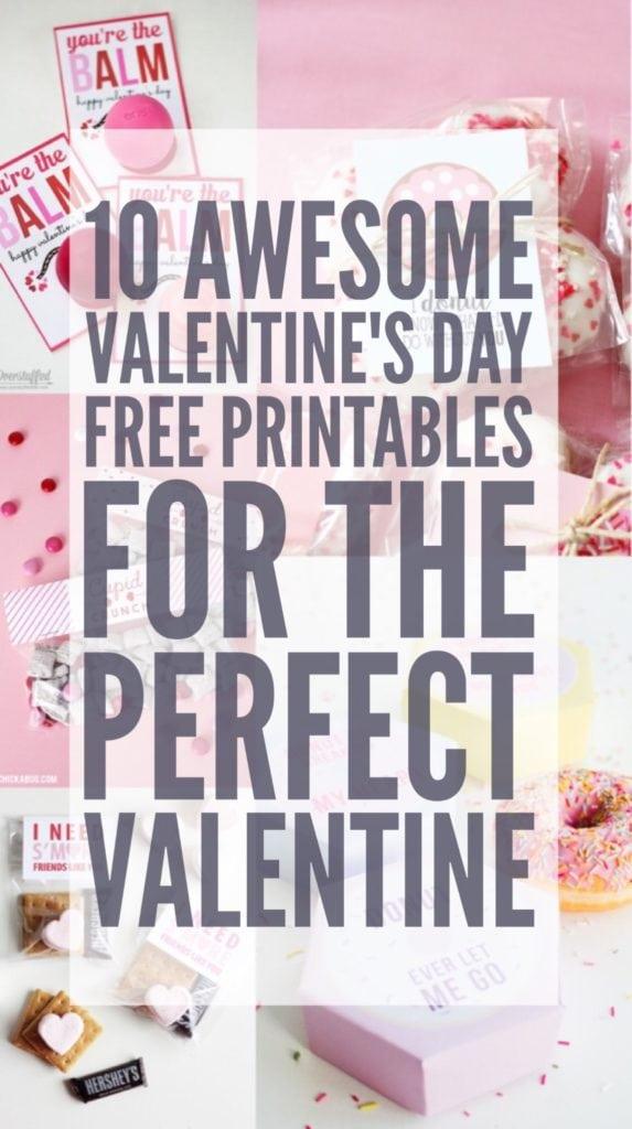 free printable valentines day
