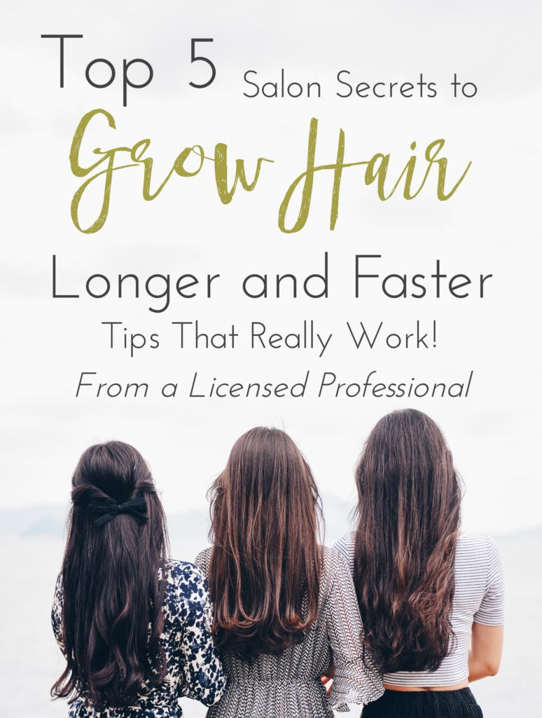 Top 5 Salon Secrets to Grow Your Hair Longer and Faster ...