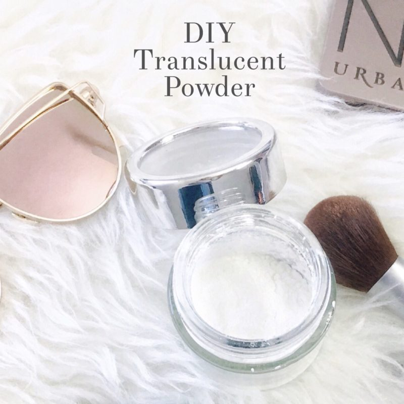 "DIY Translucent Powder + The Cheapest & Best Product for ""Baking"" Your Makeup"
