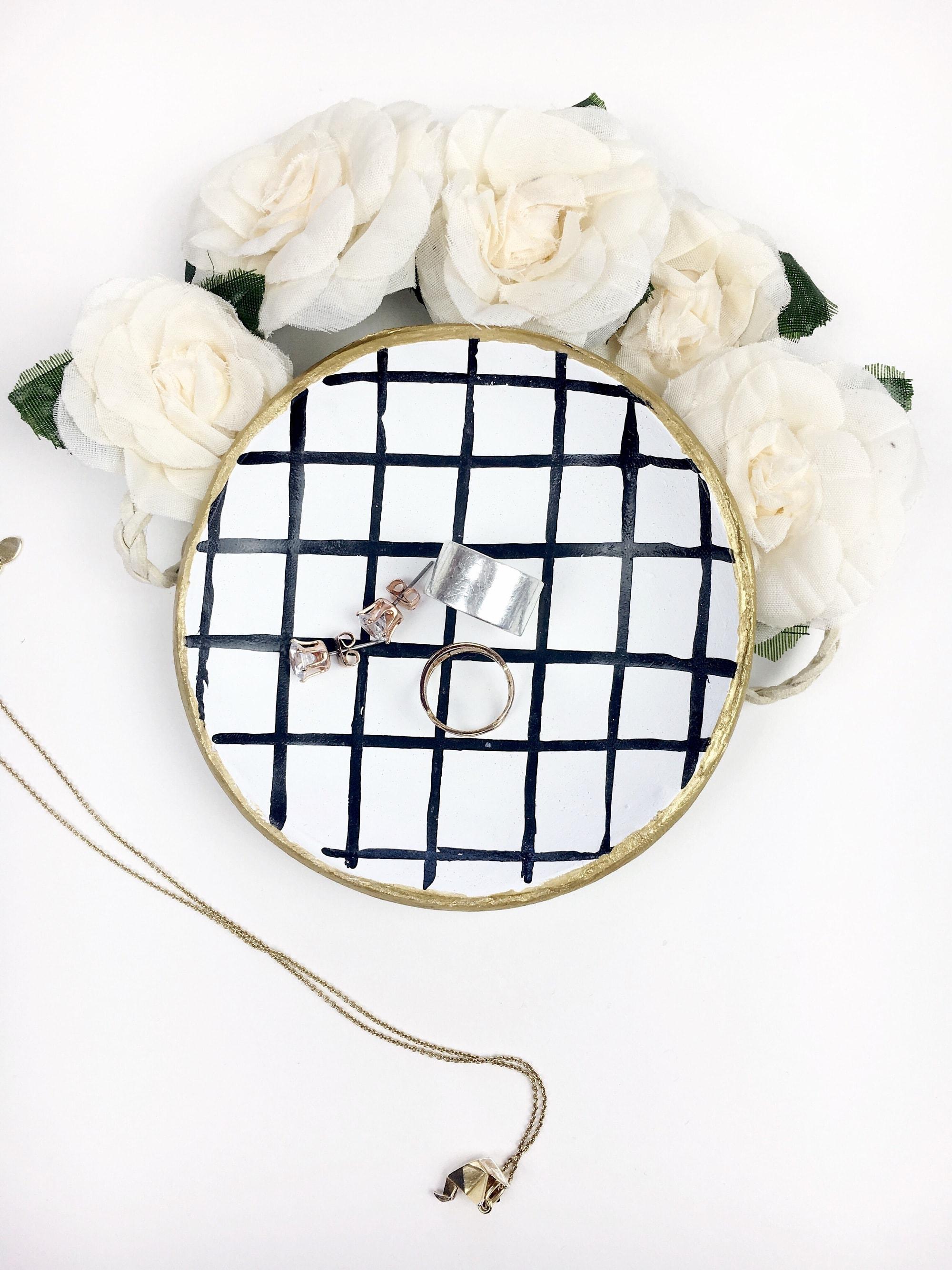 Grid Jewelry Dish