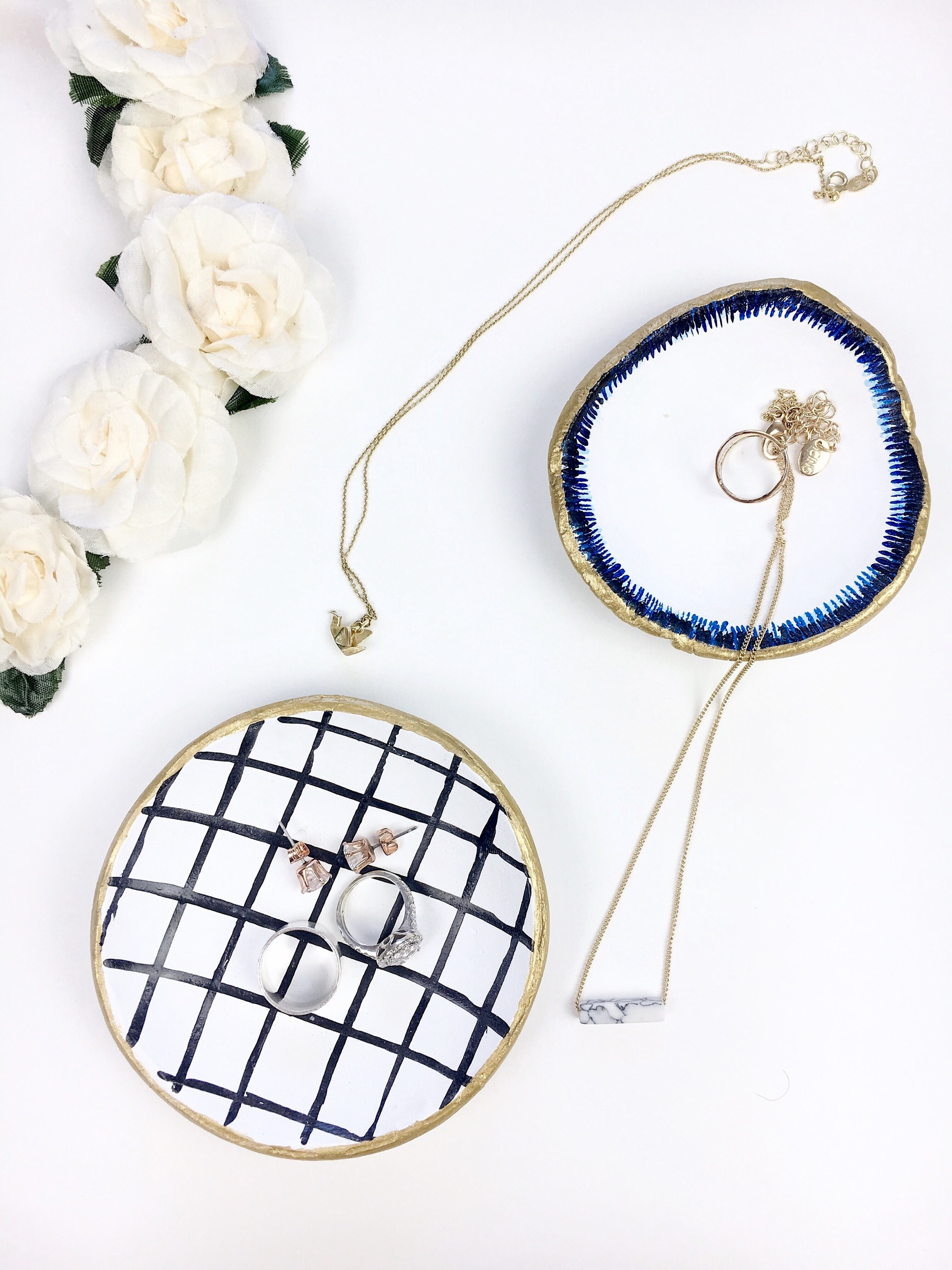 DIY Jewelry Dishes