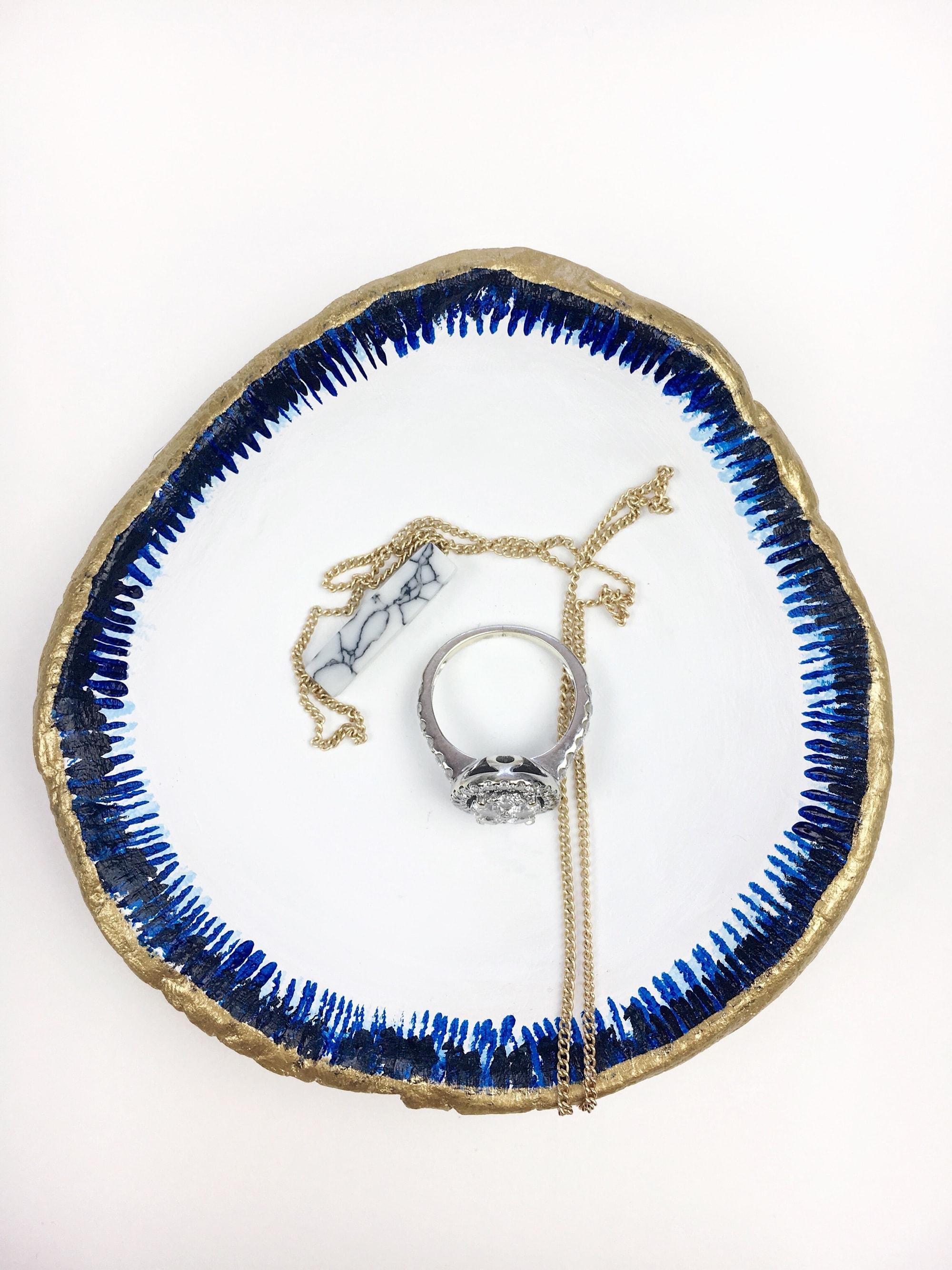 Agate Jewelry Dish