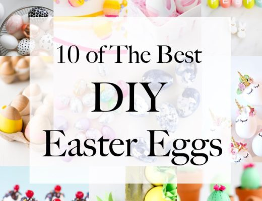 10 of The Best DIY Easter Eggs
