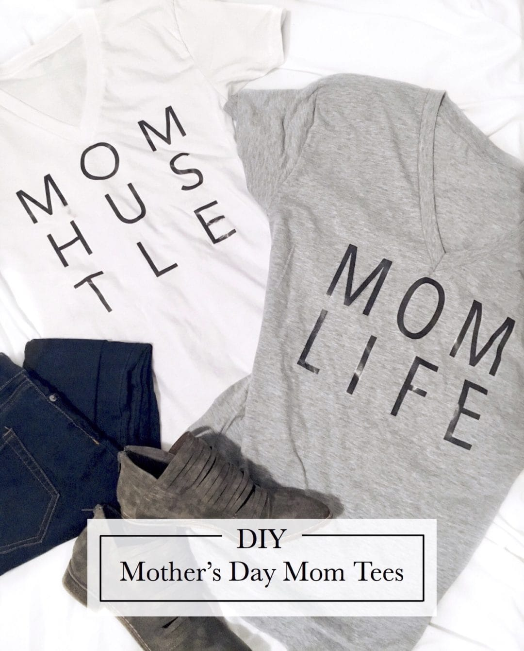 diy mom tees
