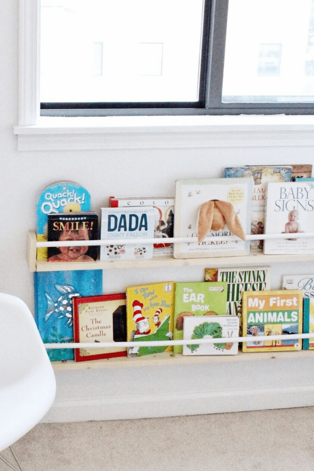 diy display bookshelves under $15