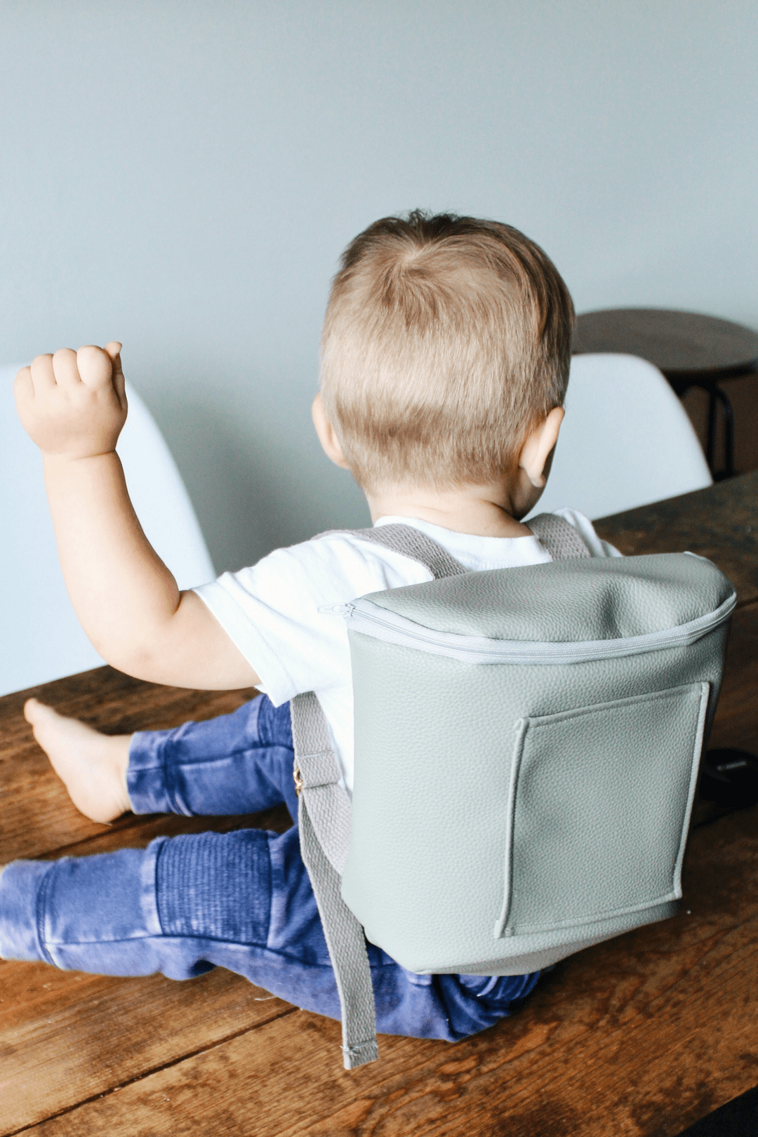 Leather Toddler Backpack
