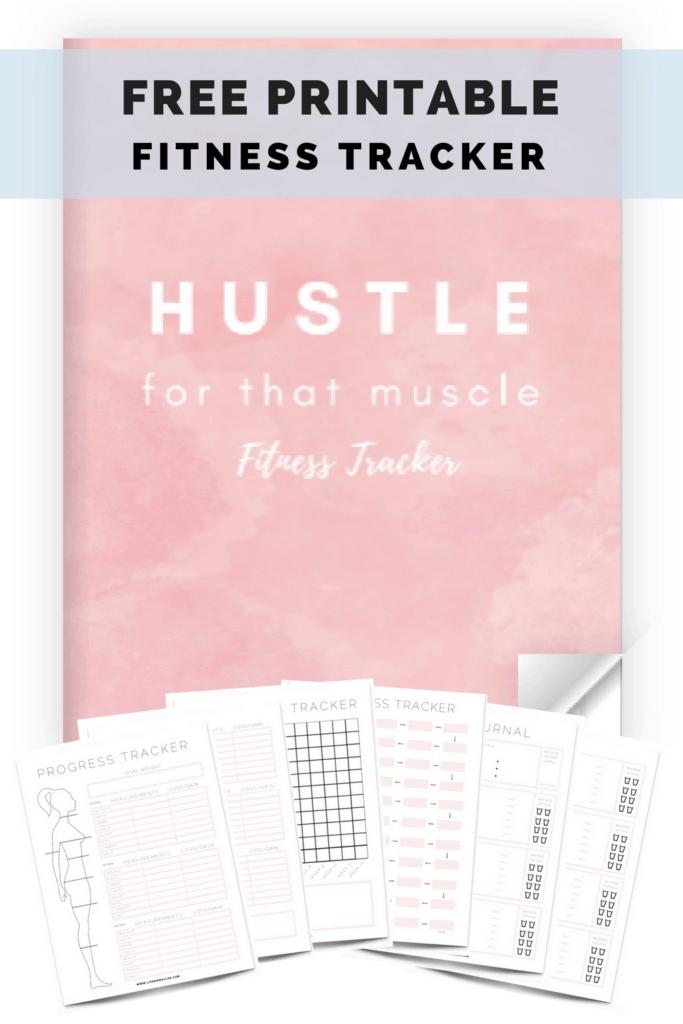 free printable fitness planner