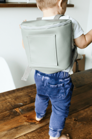 DIY Mini Leather Backpack