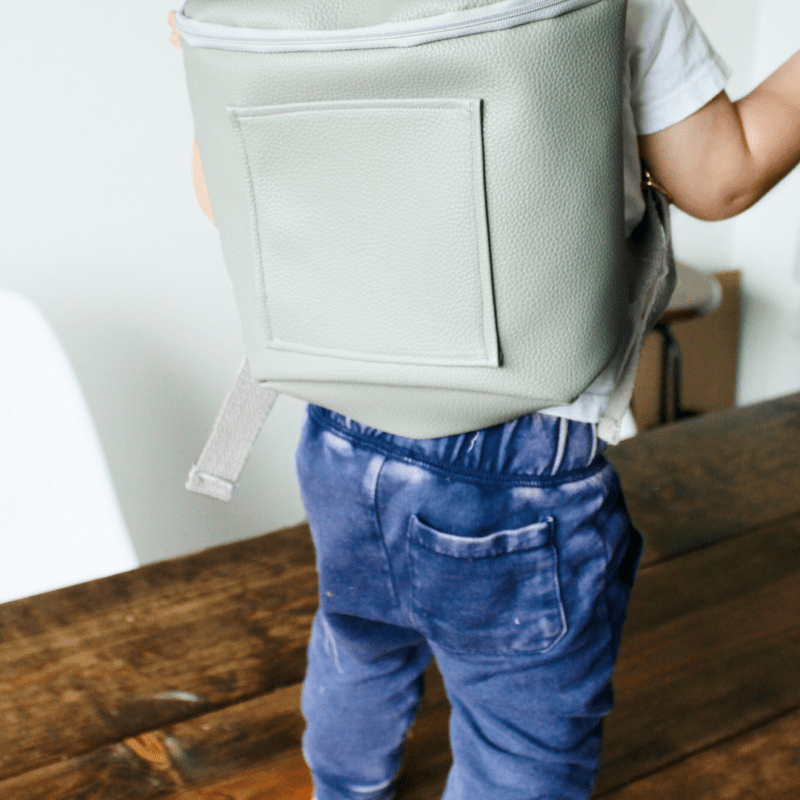 DIY Mini Leather Backpack