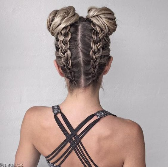Hairstyles Perfect for the gym
