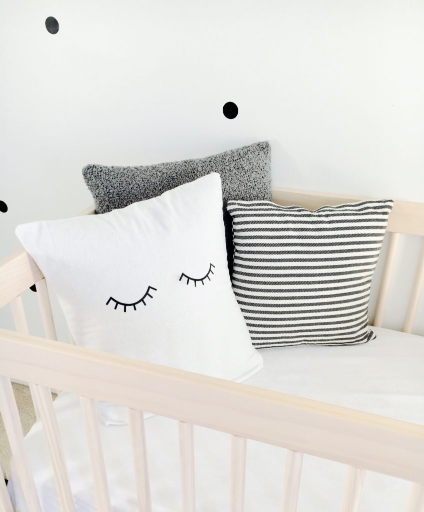 diy nursery pillows