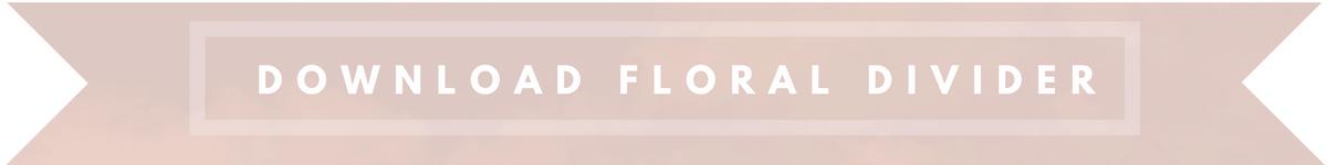 download floral divider button
