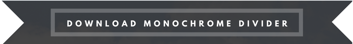 download monochrome divider button