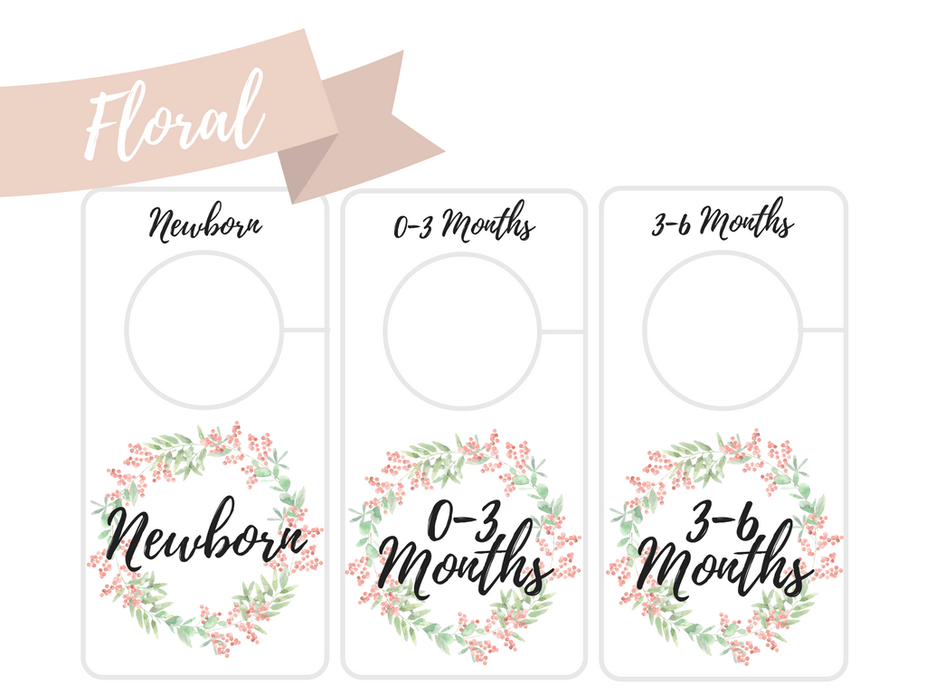 graphic about Printable Closet Dividers titled Free of charge Printable Child Closet Dividers Preemie in the direction of 24 Weeks - 2