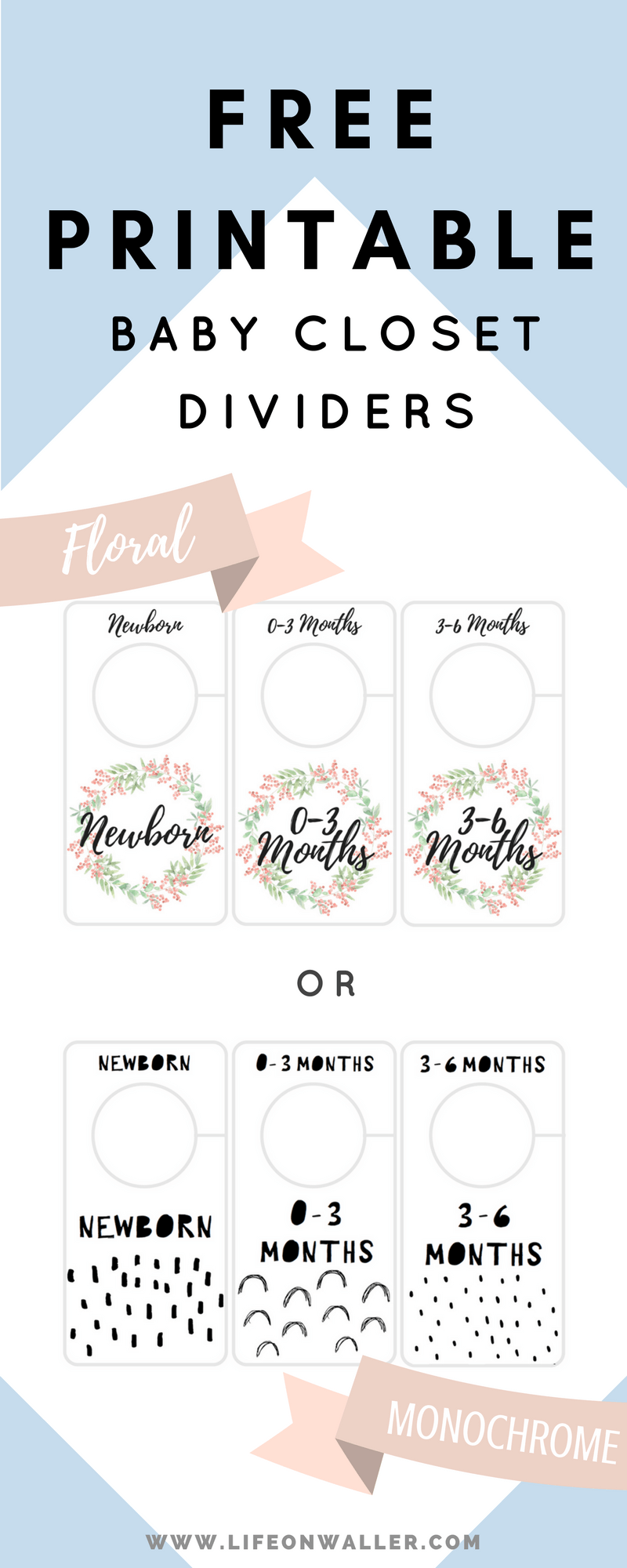 photograph relating to Printable Closet Dividers named No cost Printable Little one Closet Dividers Preemie in direction of 24 Weeks - 2