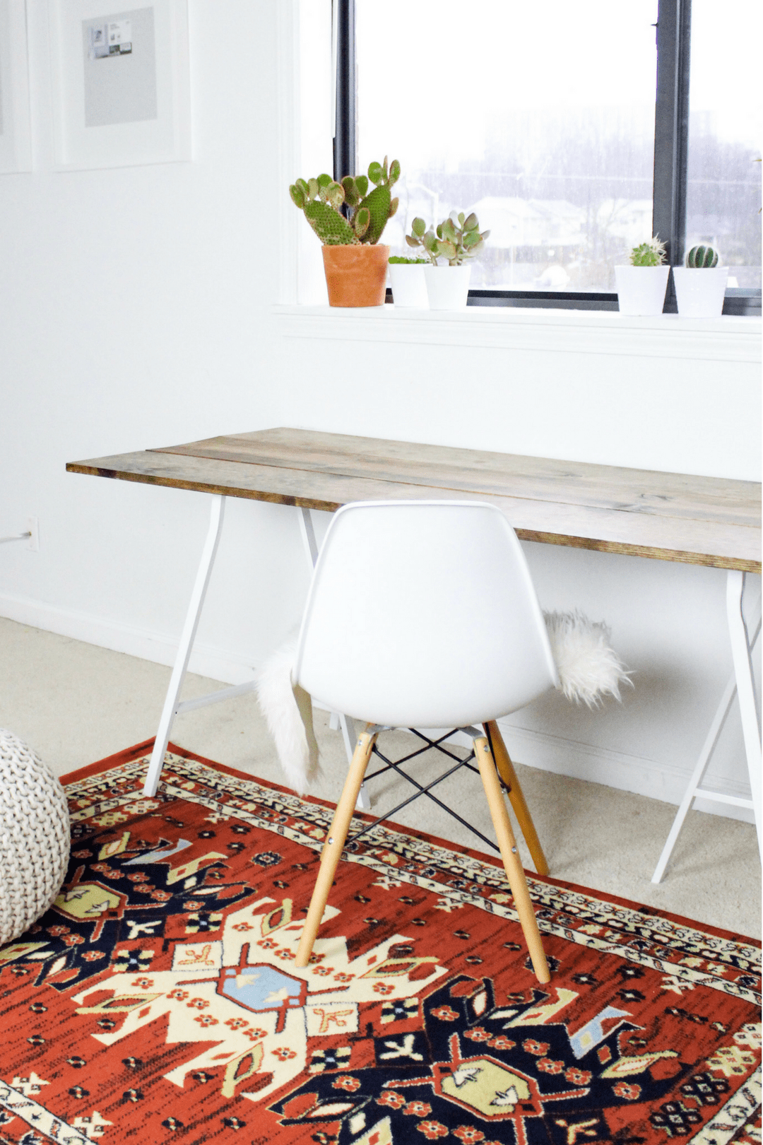 4 Step DIY Wood Desk