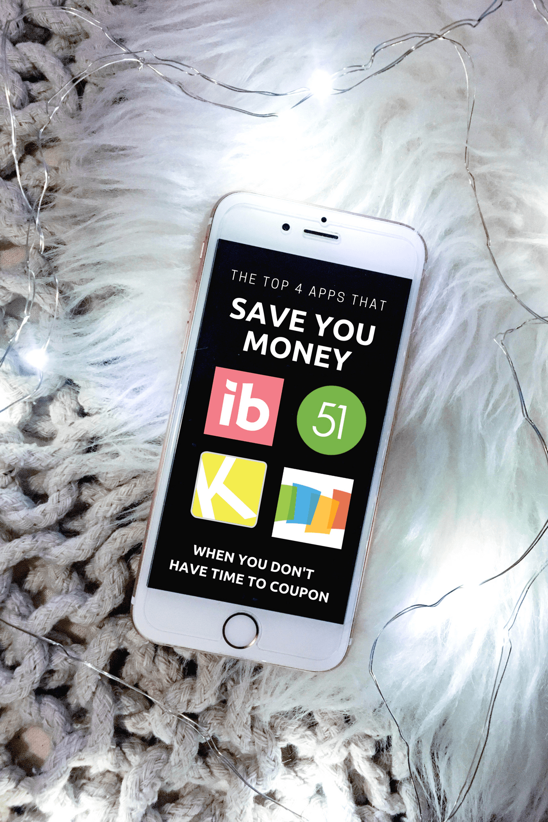 The Top 4 Apps That Save You Money on Groceries & Everyday Purchases