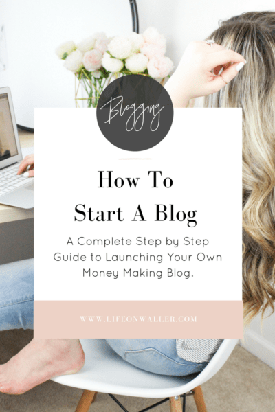 How to Start a Profitable Blog – A Complete Step by Step Guide