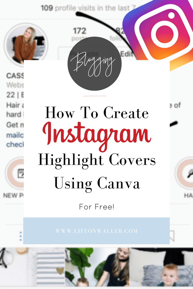 Video Tutorial: How to Create Instagram Highlight Covers ...