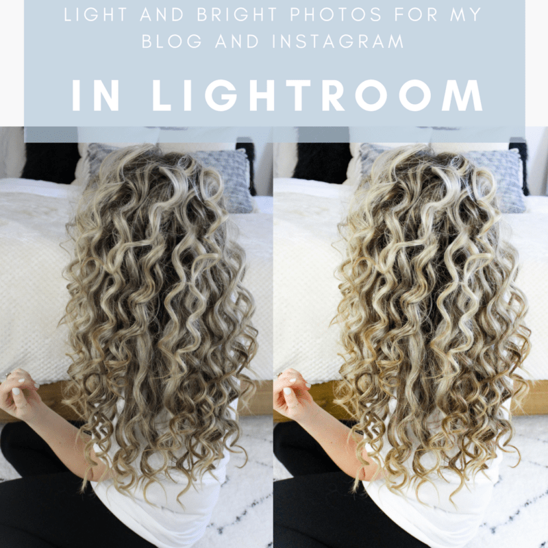 How I Edit Light & Bright Photos For My Blog and Instagram In Lightroom