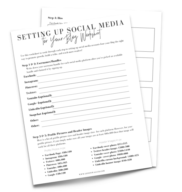 social media for your blog
