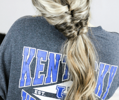 faux fishtail ponytail hair tutorial