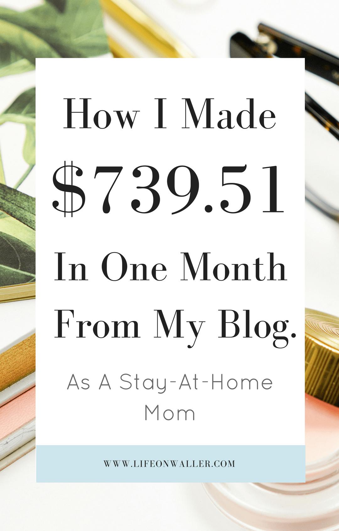 blog income report