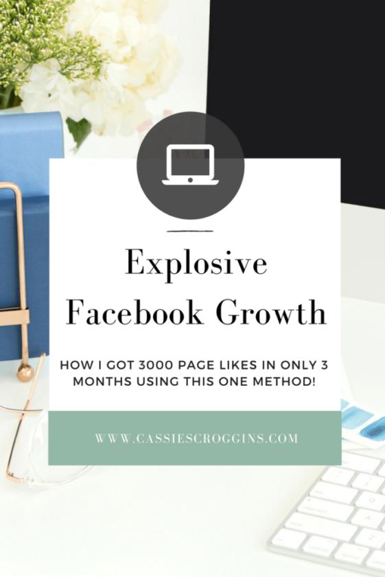 explosive facebook growth