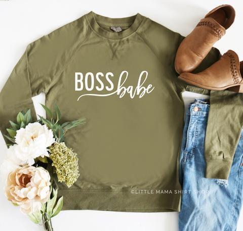 cute mom shirts boss babe