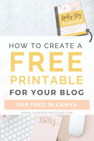 create a free printable