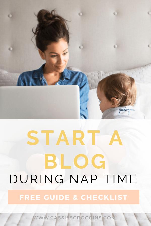 Free Start a Blog Guide & Checklist For Moms