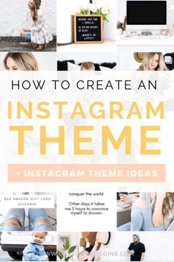 instagram theme ideas
