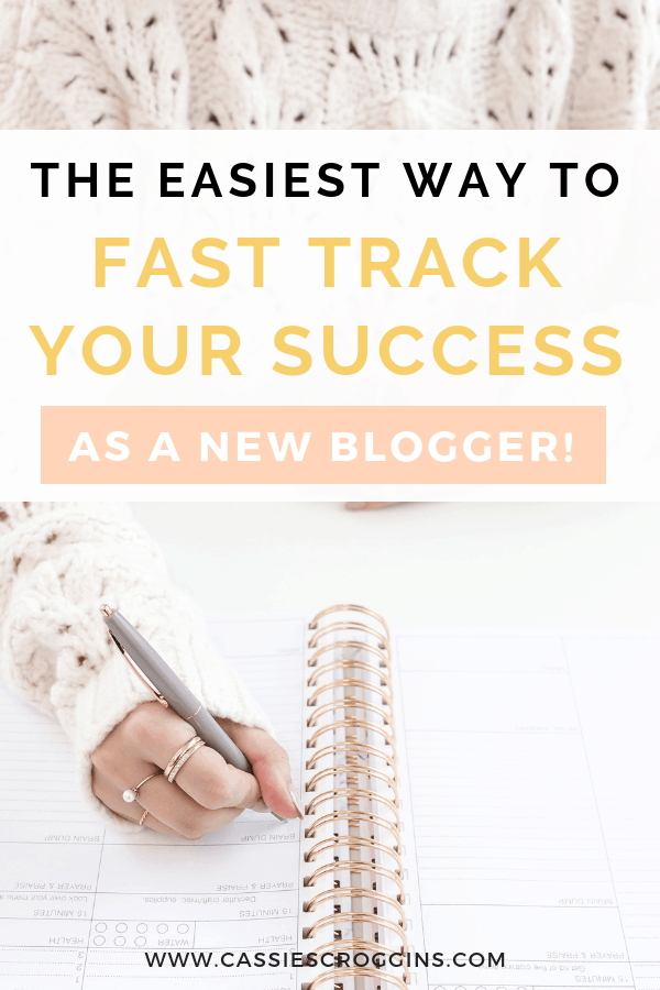 The Easiest Way to Fast Track Your Success as a Blogger