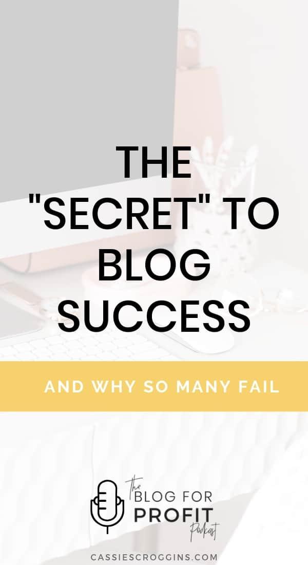 why blogs fail