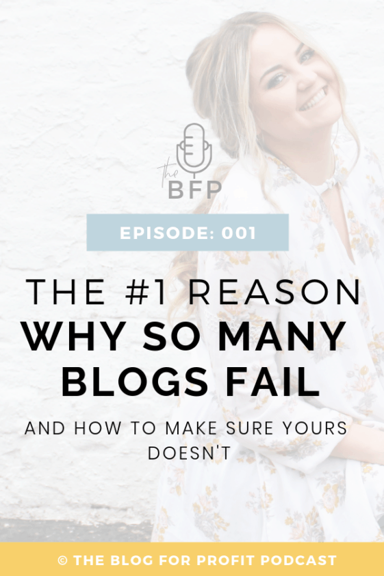 episode 001 why so many blogs fail