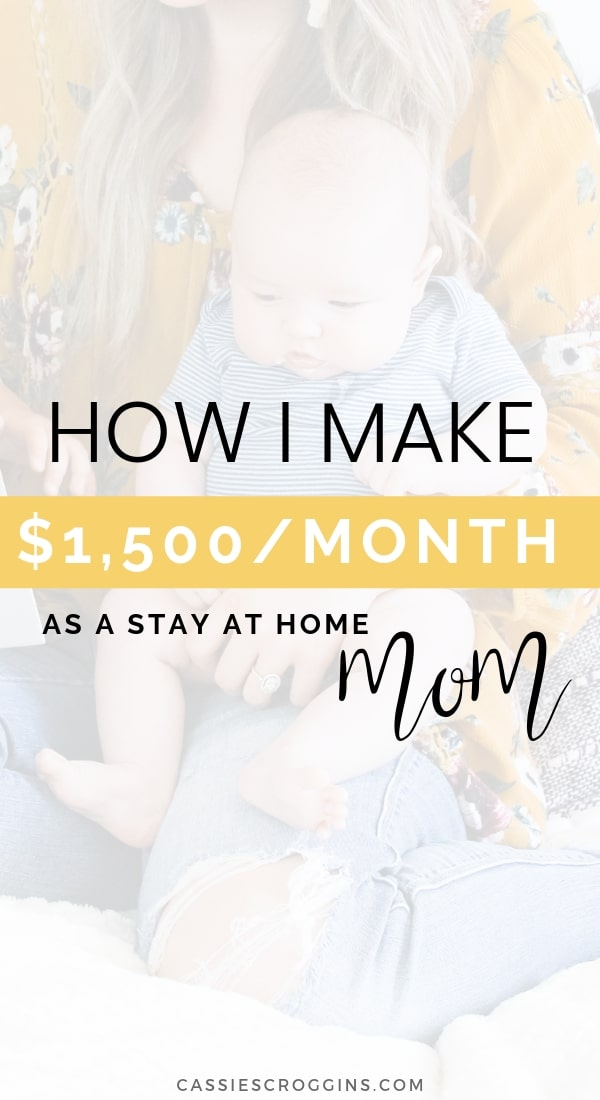 stay at home mom job