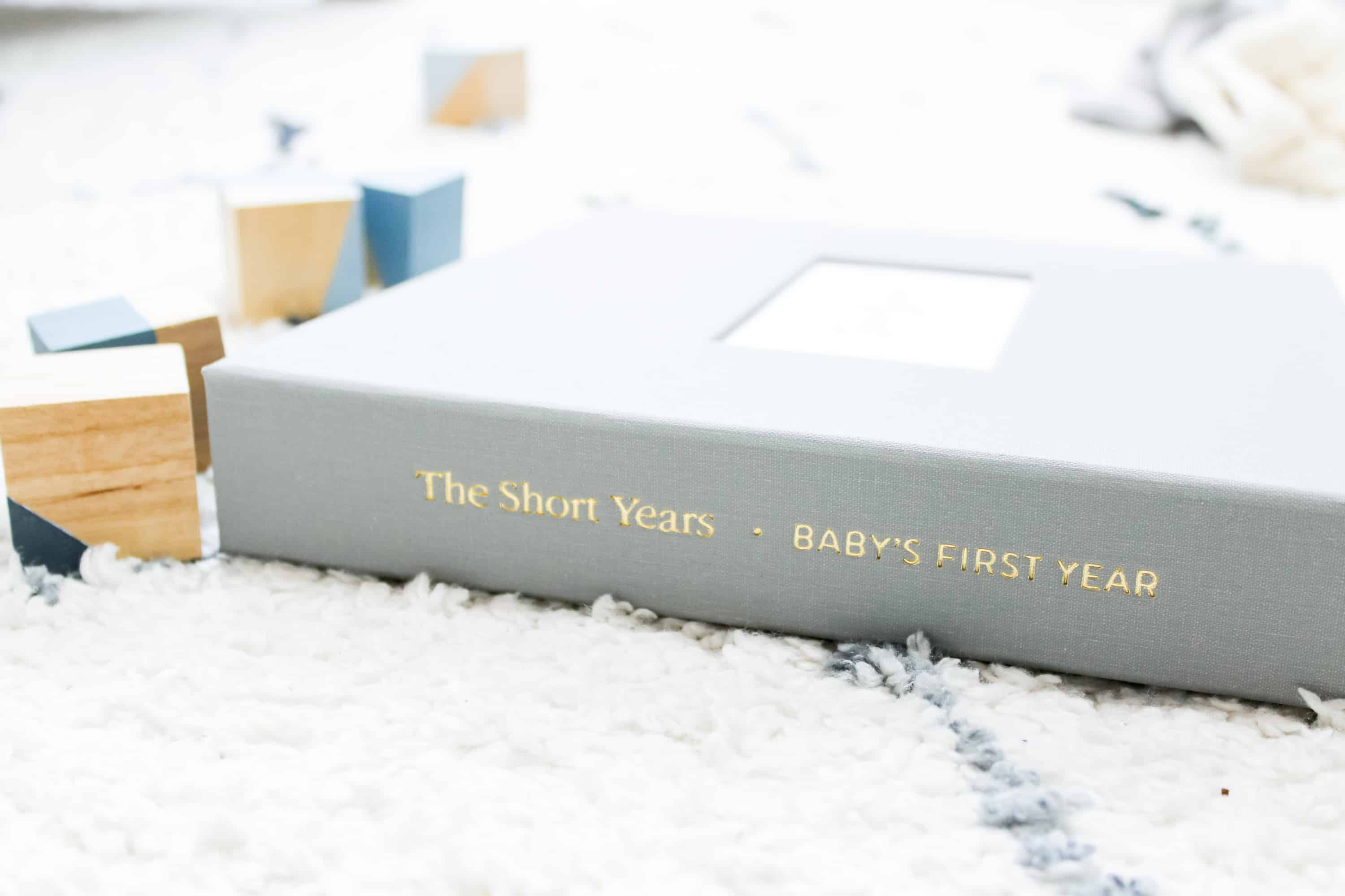 the short years best baby memory book